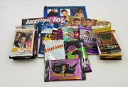 75x Music Trading Card Unopened Vintage Collector Packs Lot Great Selection