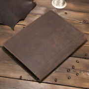 For Ipad Pro 10.5 11 Air 3 Stylish Cowhide Leather Case Smart Pen Holder Cover