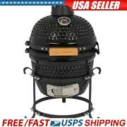 13 Kamado Grill Roaster Smoker Bbq Grill Ceramic Barbecue Grill Outdoor 2colors