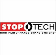 Stoptech Big Brake Kit Red Caliper, Slotted One-piece Rotor, Front
