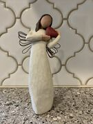 Vintage 2000 Willow Tree Angel Of The Heart 8 Inches Tall Demdaco Susan Lordi