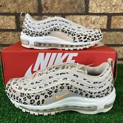 ✨nike Air Max 97 Se Wmns Cw5595-001 And039leopardand039 Beige Animal Print Sneakers ✨