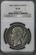 Great Britain 1845 Crown Ngc Vf 30 S430