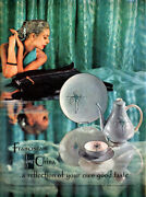 Encore Franciscan Fine China Coffee Pot Plates Cup Saucer 1957 Magazine Print Ad