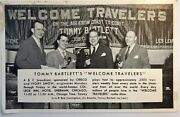 Tommy Bartlett's Welcome Travelers Party College Inn Hotel Sherman Chicago Il