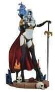Lady Death Femme Fatales Diamond Select Toys Gallery 9-inch Pvc Statue Diorama