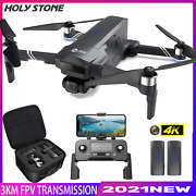 Hs600 Holy Stone Pro Fpv Drone With 2-axis Gimbal 4k Eis Camera Gps Quadcopter