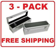 3 Aluminum Storage And Display Box Case Holds 20 Pcgs Ngc Anacs Coin Holders Slabs