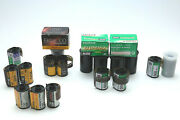 Lot Of 20 35mm Films Mostly Color Print Negative Some 1600 Speed Exp. 2013
