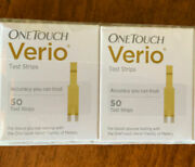 White Boxes 100ct One Touch Verio Test Strips Exp 7/2022 35