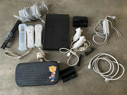 Nintendo Wii U Wup-101 32g Console Bundle Game Pad Wiimotes Nunchucks Stands