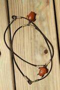 Christmas Gifts For Men Sea Turtle Jewelry Menand039s Choker Hand-carved Wood - Ss-73