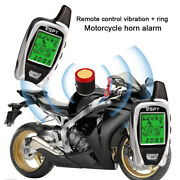 Spy Motorcycle Alarm System Remote Control Anti-theft Immobiliser Security 5km