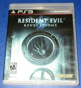 Resident Evil Revelations Ps3 New Sealed Torn Cellophane Free Shipping