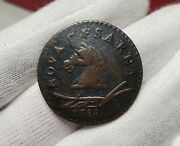 1788 New Jersey Colonial Copper Coin - Horse Head Left - Maris 50-f, W-5475