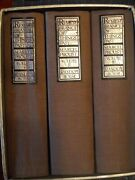 Remembrance Of Things Past 3 Volume Set Marcel Proust 1981 Random House