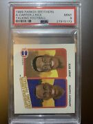 1989 Parker Brothers Talking Football Anthony Carter Jerry Rice Psa 9 Mint Rare