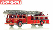 Fdny Seagrave Phone Booth Ladder 56 Bronx 1/50 Fire Replicas Fr045-56 Sold Out