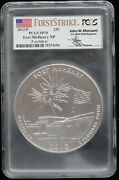 Kappys 2013p 5oz Atb Fort Mchenry N Park Pcgs Sp70 First Strike Mercanti