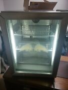 Red Bull Energy Drink Cooler Mini Fridge Table Top Small Refrigerator