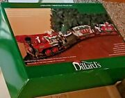 Dillardand039s Trimmings Animated Christmas Train Set G Scale By New Bright Complete