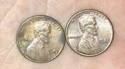 1982 Small Date Copper Penny Mint Error Comes With 2 Small Date 1982 Pennys