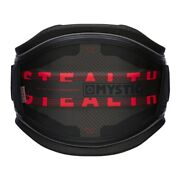 Mystic Stealth Waist Harness Black/red Large With 32cm Stealth Bar Kite