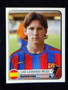 2005 Champions Italy Rare Messi Barcelona Soccer Card Mint Panini Great Quality