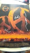 A Perfect Circle 2011 Vip Tour Poster Signed By Entire Band.