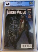 Star Wars Darth Vader 3 Cgc 9.8 First Appearance Of Doctor Aphra W/ White Pages
