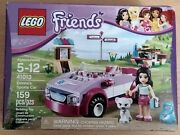 New And Sealed Lego Friends Set 41013 Emmaand039s Sports Car Retired And Rare Cat