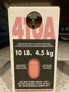 R410a 10 Lb. New Factory Sealed. 100 Virgin Free Same Day Shipping By 3 Pm