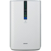 Sharp Wall-mount Air Purifier Humidifier Humidity Level Display 3-fan Speeds