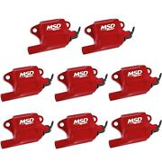 Msd Ignition 82878 Blaster Ls Coil High Power Fits Ls2/ls7 Engines Pack Of 8