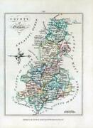 1776 Ireland - Rare Engraved Antique Map Of Galway By Bernard Scale Bs2/14