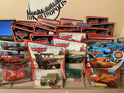 Huge Lot 24 Disney Cars Characters New Sealed Carded 2006-12 Movies