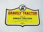 Vintage Gravely Gravely Tractor Quality Tractor Built For Tough Jobs Sticker