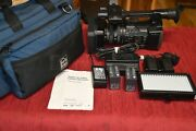 Sony Fdr-ax1 Digital 4k Video Camera Camcorder Fdr-ax1 - Low Hours