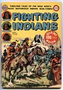 Fighting Indians 1952-avon 100 Page Comic-geronimo-crazy Horse- G/vg
