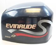285256 Evinrude Johnson 1999 Ficht Top Cowling Engine Cover Hood 200 225 Hp V6