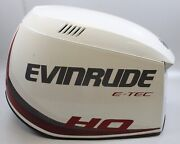 285653 Evinrude Etec Ho 2005-08 Top Engine Hood Cowling Cover 200 225 250 300 Hp