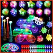 Mibote 67pcs Led Light Up Toys Party Favors Glow In The Dark Supplies For Kid/ad