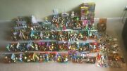 World Of Simpsons Wos - Action Figures And Playset Mega Collection -the Simpsons