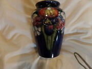 Vintage Moorcroft Pottery Exceptional Arts And Crafts Design Orchid Artist Sign