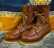 Redwing Red Wing Made In Usa 10 Holes Us7 25cm
