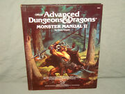Adandd 1st Ed - Monster Manual Ii Nm- And Signed By Dandd Creator Gary Gygax
