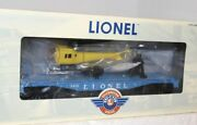 ✅lionel Operating Helicopter Launch Car 6-29827 3419 Pwc Postwar Celebration