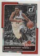 2015 Donruss The Rookies Inspirations Die-cut /68 Karl-anthony Towns 21 Rookie