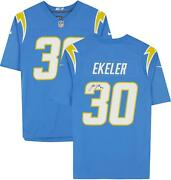 Austin Ekeler Los Angeles Chargers Autographed Powder Blue Nike Game Jersey