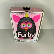 Furby Interactive Electronic Pet Punky Pink/black Hasbro 2012 W/ Box Tested